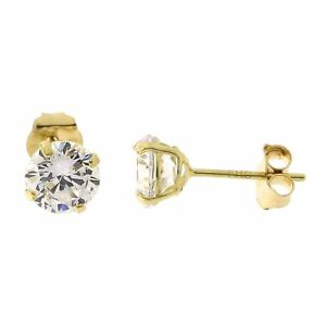 14k-Yellow-White-or-Rose-Gold-Basket-Set-Cubic-Zirconia-Stud-Earrings