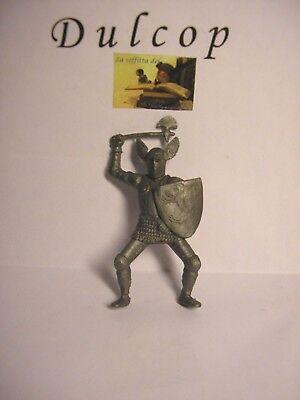 Brillante Soldatino Toy Soldier Dulcop Italy Cavaliere Medievale Plastica Scala 1:32 Aspetto Estetico