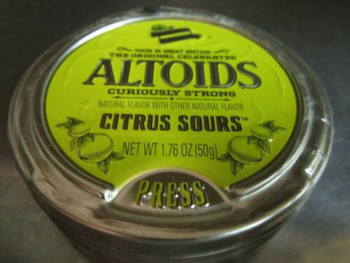 Altoids Sours Discontinued, RARE Curiously Strong Citrus 1 Sealed Tin