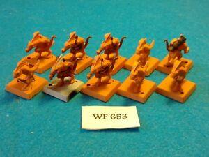Warhammer-Fantasy-Lizardmen-Skink-Warriors-x10-WF653