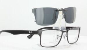 a2cc0d886d Custom Fit Polarized CLIP-ON Sunglasses For RAY-BAN RB6238 55x17-TAB ...