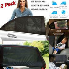 2xAutosonnenschutz Sonnenschutz Auto Pkw Universal Sonnenblende Seitenfenster DE