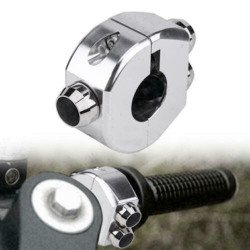 Momentary Cafe Racer Custom Black CNC Switch Motorcycle Handlebar Button Latch