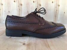 NEW Zara Man Brown Leather Oxford Shoes Size US 7 / EU 40 NWOB