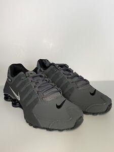 best website ade45 743d9 Details about Nike Shox NZ Men 378341-059 Dark Grey Black, Size 8