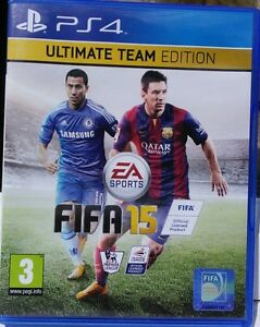 FIFA 15  Ultimate Team Edition Sony PlayStation 4 2014 - Petersfield, United Kingdom - FIFA 15  Ultimate Team Edition Sony PlayStation 4 2014 - Petersfield, United Kingdom