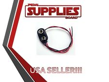 9V Battery Connector Snap Clip Wire Lead 9 Volt Holder USA Seller Free Shipping