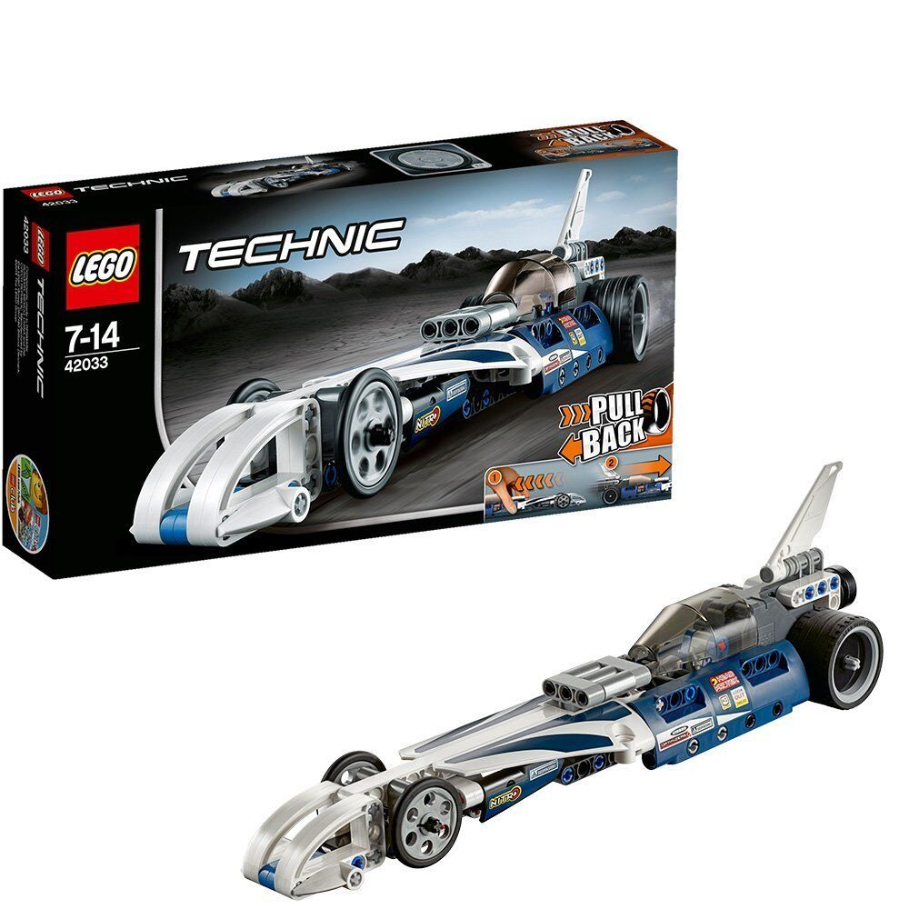 LEGO Technic 42033  Record Breaker ungar BYGGNAD FUN GIFT IDEA BRAND NY