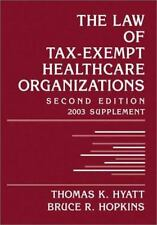 The Law of Tax-Exempt Healthcare Organizations 2003 Cumulative Supplem-ExLibrary