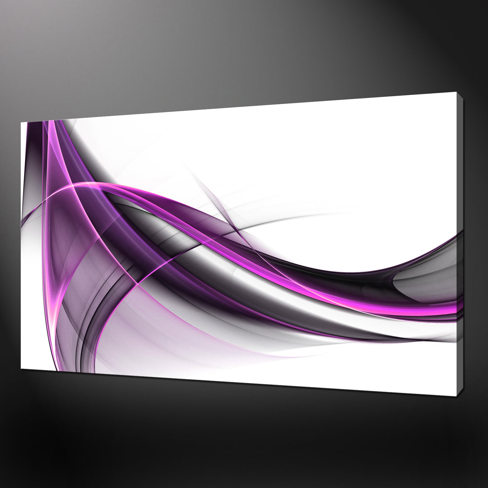 ABSTRACT WAVES CANVAS drucken PICTURE wand kunst FREE UK DELIVERY VARIETY OF GrößeS