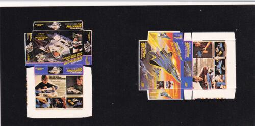 Dollhouse Miniature Replica Jet and Space Machine Toy Box Kit TBK-8