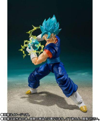 Super Bandai S.H Action Figure Figuarts Super Saiyan God Super Saiyan Vegito