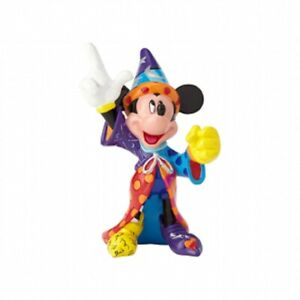 Disney-by-Britto-Mickey-Mouse-Sorcerer-039-s-Apprentice-Stone-Resin-Mini-Figurine