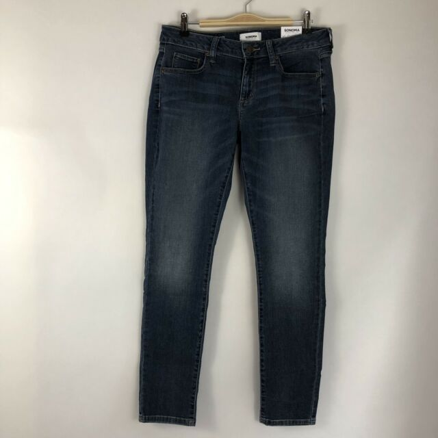 NWT! Women's SONOMA Goods for Life Supersoft Stretch Skinny Jeans Size 10