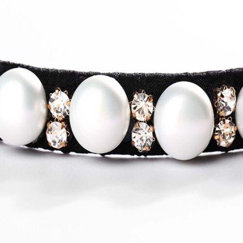 Fashion Rhinestone Hair Claws Women Birds Nest Hairpin Pearl Ponytail Holders
