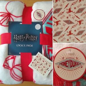 HARRY-POTTER-HONEYDUKES-Soft-Throw-Fleece-Blanket-Brand-New-Gift-Idea-Christmas