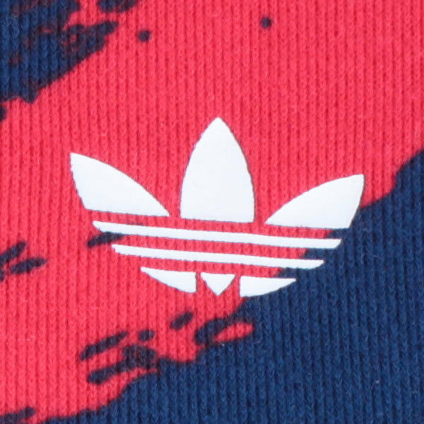 adidas Damen Paris Print Hood Sweat Kapuzenpullover multicolour