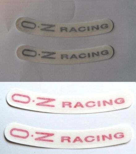 Paar Aufkleber oz Racing Original X Alufelgen 17 18 19 Neu