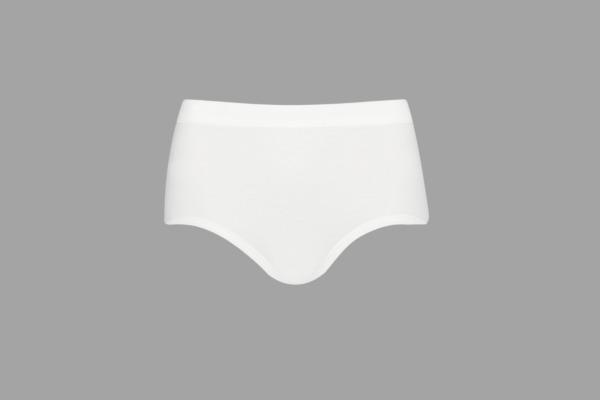 5 er Pack ESGE Damen Hüftslip mit Softbund weiß 8270-020 Gr. 36/38 – 52/54