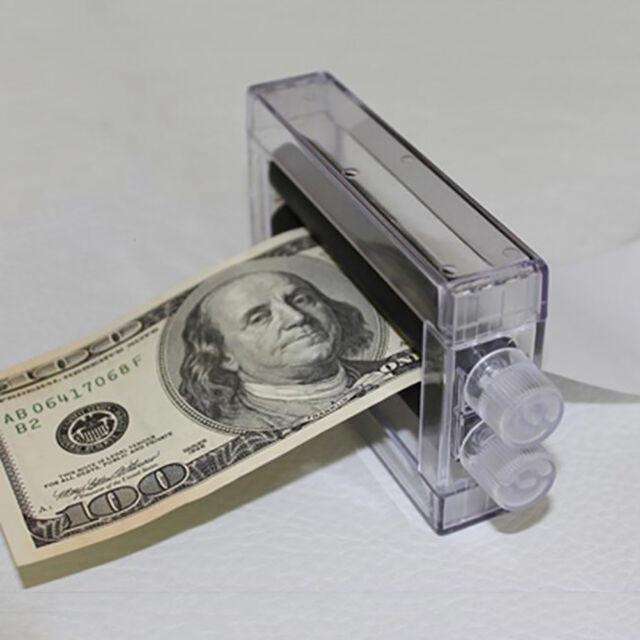 Close-Up Magic Prop Trick Dollar Money Printer Maker Bill Printing Machine  Conve