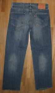 """Wow Levi `S 751 D' Homme Jeans / Levis Blue-Jeans en Bleu W32 """" / L30 """""""