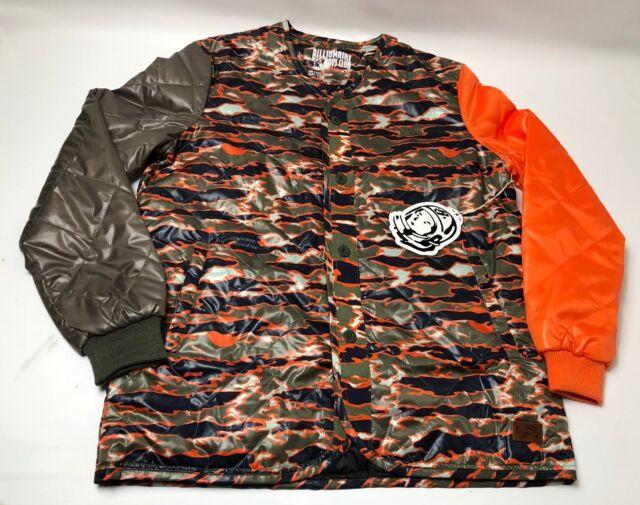 Billionaire Boys Club BB Cam Heart Jacket 881-1407 Honey Dew 2018 BBC Withtags