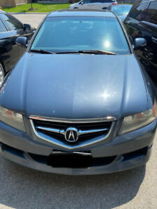 2005 Acura TSX 6 speed manual clean Title