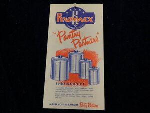 Vintage-Kromex-Aluminum-Pantry-Partners-Brochure-Matched-Kitchen-Housewares-A60b