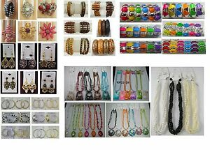 A-31-wholesale-Jewelry-lots-25-Pcs-Mixed-Earrings-Bracelets-Rings-and-Necklaces