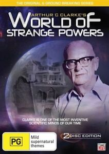Arthur-C-Clarke-039-s-World-Of-Strange-Powers-DVD-2-Disc-Set-Region-4-New-Sealed