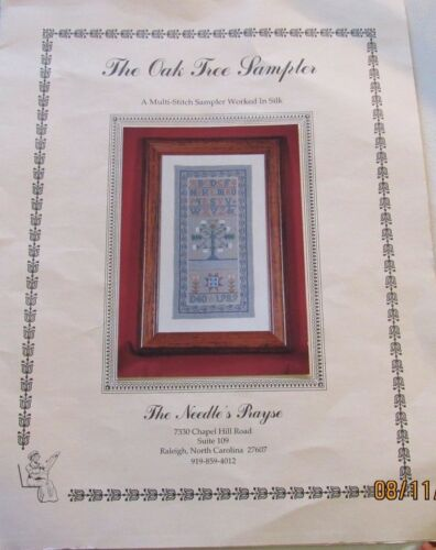 THE OAK TREE SAMPLER  by The Needle/'s Prayse OOP  stitch kit