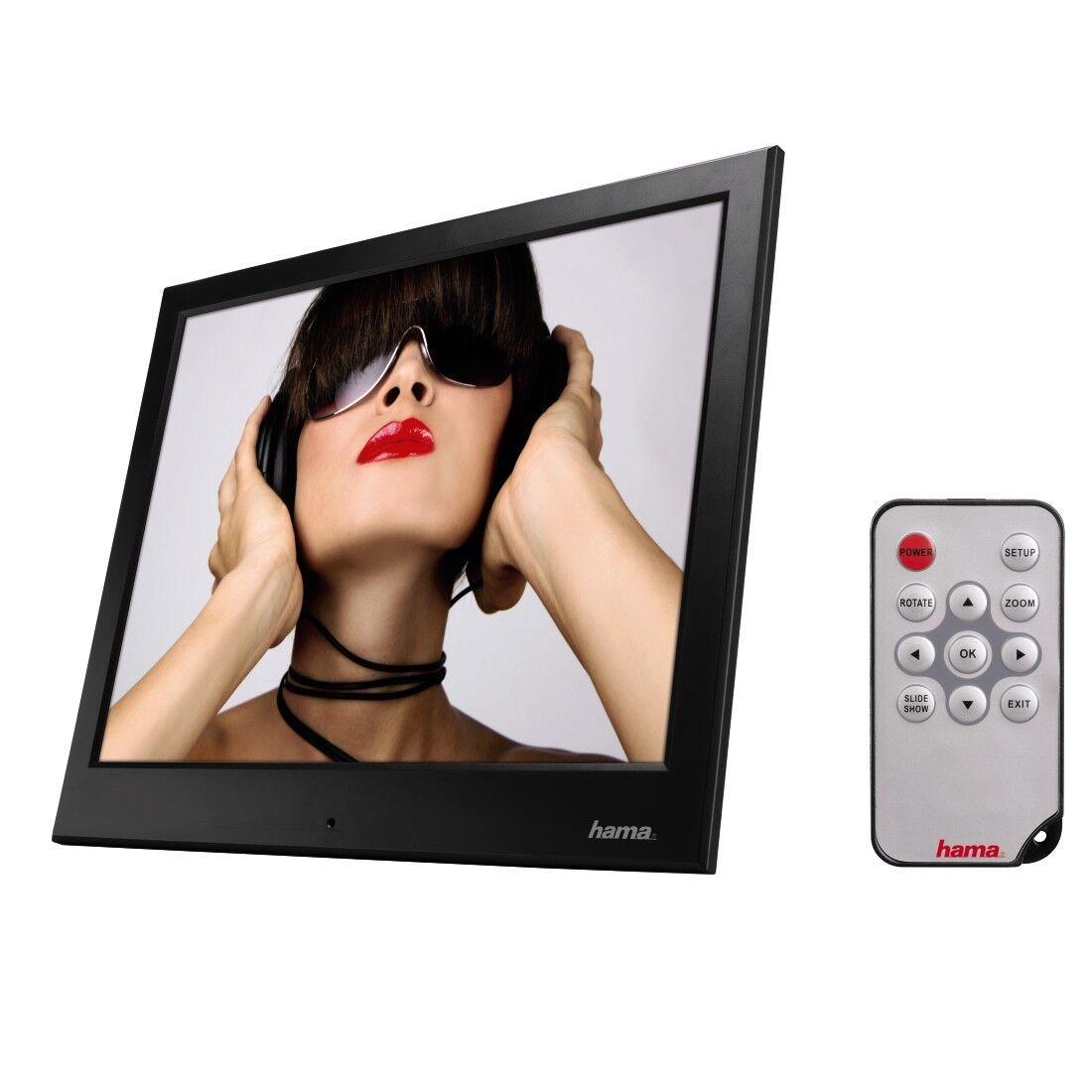Hama 95291 Slimline Basic 25,4 cm ( 10 ) Digitaler Bilderrahmen 10 ...