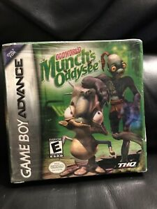 Gameboy-Advance-Game-New-Sealed-In-Box-Oddworld-Munch-039-s-Oddysee