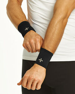 Tommie Copper Men's Core Compression Wrist Sleeves