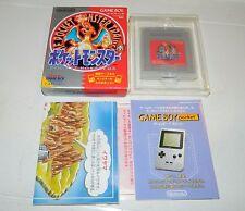 Pokemon Red Version  (Nintendo Game Boy) GBC Japan Pocket Monsters COMPLETE