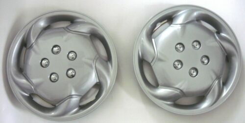 elección 2 unidades radblenden tapacubos plata Silver 14 pulgada radzierblende 2