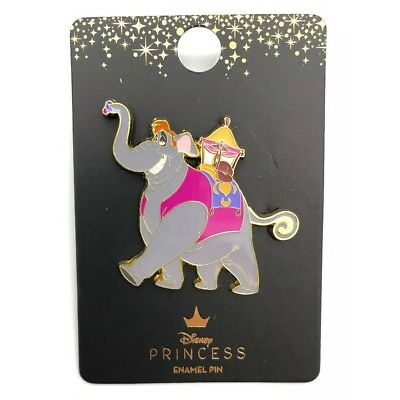 Disney Loungefly Princess Pin Aladdin Abu Elephant