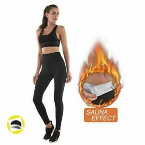 Legging anti Cellulite Pantalon de Sudation Legging Femmes Taille Haute avec ...