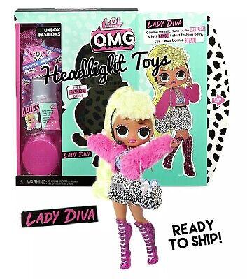 "Neonlicious 10"" Fashion Doll Big Sister HTF Authentic L.O.L O.M.G Surprise"