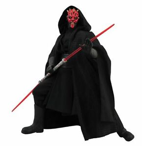Figurine Darth Maul Ultimate Quarter Scale de Star Wars, neuve dans la boîte Htf