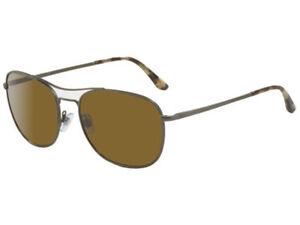 e218c644360d New Giorgio Armani AR6021 3081 73 56MM Pilot Sunglasses Gunmetal ...