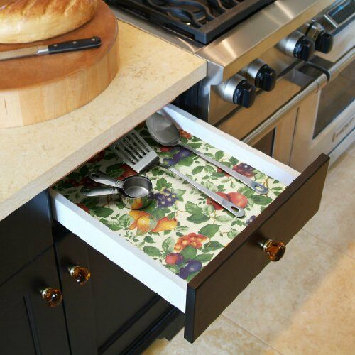 """Con-TactBrand Creative Covering SelfAdhesiveShelf/&Drawer Liner,18/""""by9Feet,Sonoma"""