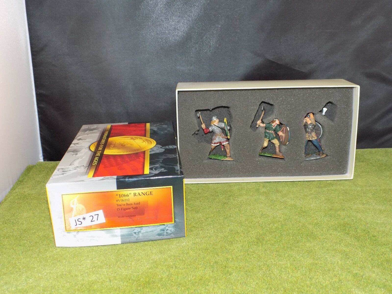 Conte Collectibles 1066 VIK012 YOU'VE BEEN AXED set of 3 with box (JS 27)
