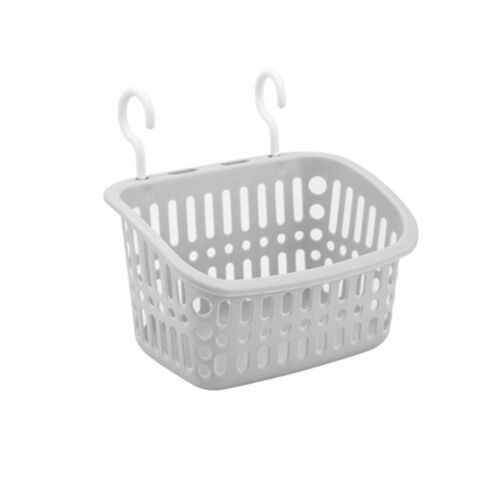 Plastic Hanging Bath Shower Caddy Basket With Hook Container Holder Supply