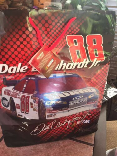 """NASCAR Gift Bag  WITH GIFT TAG APX 16/"""" X12/""""  NEW Gift  Bag"""