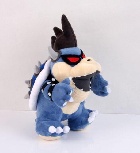 RARE Super Mario Bros Koopa Dark Bowser 12 inch Plush Toy Stuffed Figure Doll