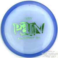 Blue Opto Pain Overstable Midrange 172g Latitude 64 Disc Golf Green Stamp