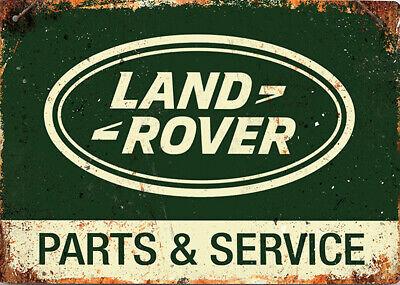 Retro Rover Metal Sign Car Workshop Garage Tin Plaque