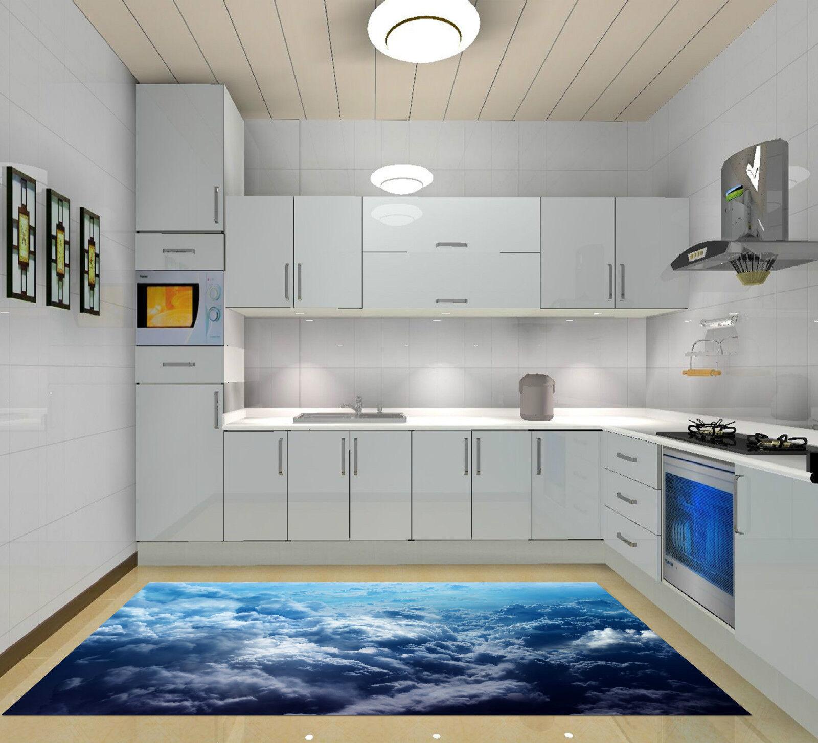 3D Nuages Nuages Nuages Cotonneux 099 Décor Mural Murale De Mur De Cuisine AJ WALLPAPER FR | Doux Et Léger  26f7bd