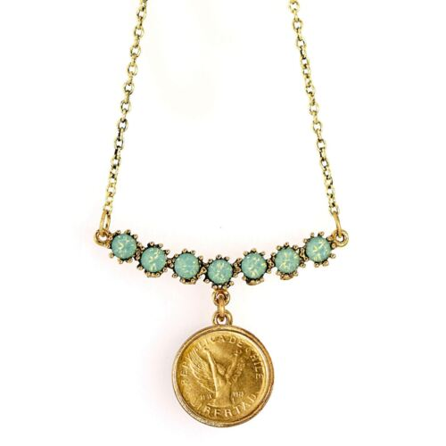 NEW American Coin Treasures Angel Coin Swag Necklace 11336